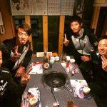 秋吉、千賀、岡田、松井の食事会wwwwww www